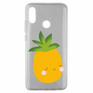 Etui na Huawei Honor 10 Lite Pineapple with face