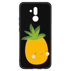 Etui na Huawei Mate 20 Lite Pineapple with face