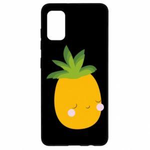 Etui na Samsung A41 Pineapple with face