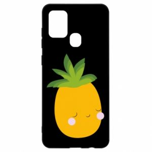 Etui na Samsung A21s Pineapple with face