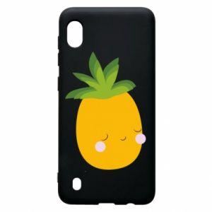 Etui na Samsung A10 Pineapple with face