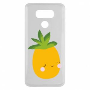 Etui na LG G6 Pineapple with face
