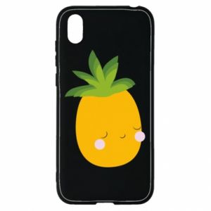 Etui na Huawei Y5 2019 Pineapple with face