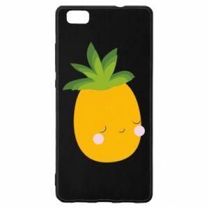 Etui na Huawei P 8 Lite Pineapple with face
