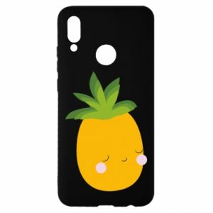 Etui na Huawei P Smart 2019 Pineapple with face