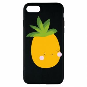 Etui na iPhone SE 2020 Pineapple with face