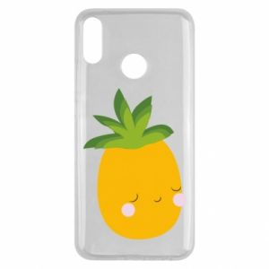 Etui na Huawei Y9 2019 Pineapple with face