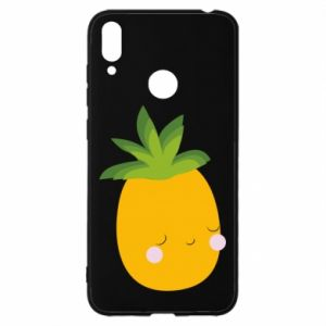 Etui na Huawei Y7 2019 Pineapple with face