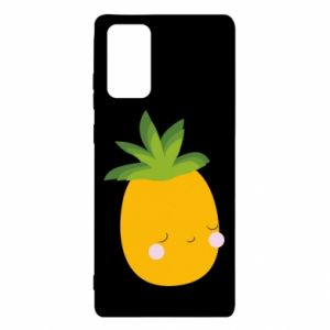 Etui na Samsung Note 20 Pineapple with face