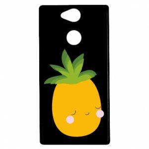 Etui na Sony Xperia XA2 Pineapple with face