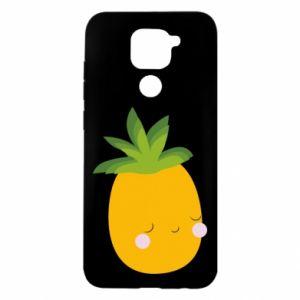 Etui na Xiaomi Redmi Note 9/Redmi 10X Pineapple with face