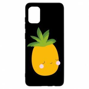 Etui na Samsung A31 Pineapple with face