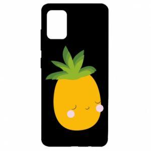 Etui na Samsung A51 Pineapple with face