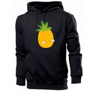 Męska bluza z kapturem Pineapple with face