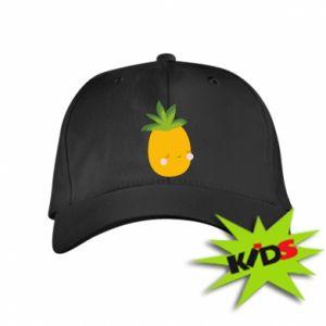 Czapeczka z daszkiem dziecięca Pineapple with face