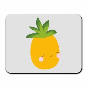 Podkładka pod mysz Pineapple with face