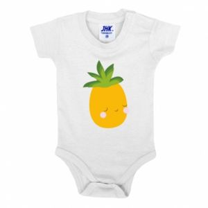Body dziecięce Pineapple with face