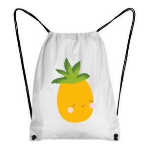 Plecak-worek Pineapple with face