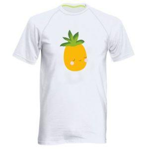 Koszulka sportowa męska Pineapple with face