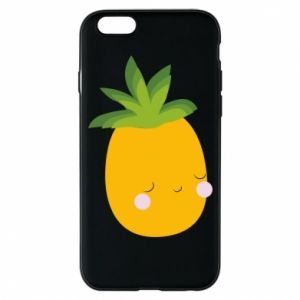 Etui na iPhone 6/6S Pineapple with face