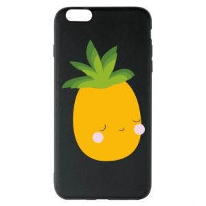 Etui na iPhone 6 Plus/6S Plus Pineapple with face