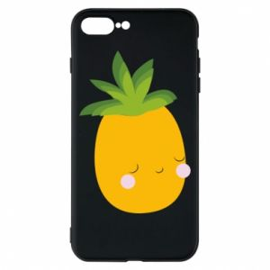 Etui na iPhone 8 Plus Pineapple with face