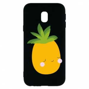 Etui na Samsung J3 2017 Pineapple with face
