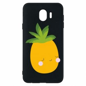 Etui na Samsung J4 Pineapple with face