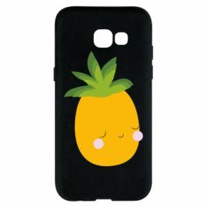 Etui na Samsung A5 2017 Pineapple with face