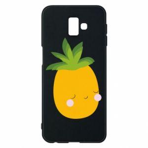 Etui na Samsung J6 Plus 2018 Pineapple with face