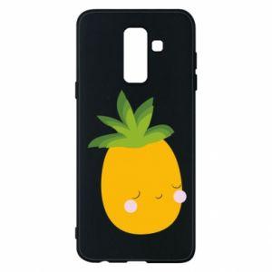 Etui na Samsung A6+ 2018 Pineapple with face
