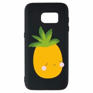 Etui na Samsung S7 Pineapple with face
