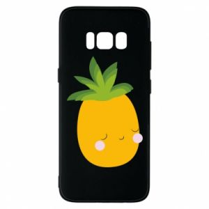 Etui na Samsung S8 Pineapple with face