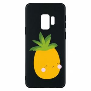 Etui na Samsung S9 Pineapple with face