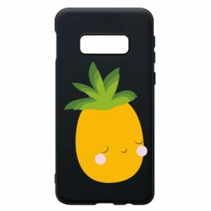 Etui na Samsung S10e Pineapple with face