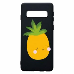Etui na Samsung S10 Pineapple with face