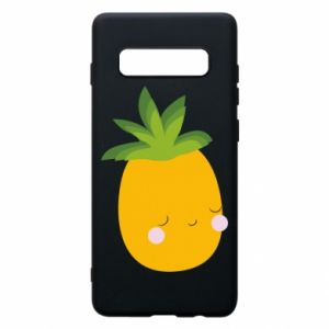 Etui na Samsung S10+ Pineapple with face