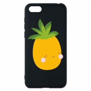 Etui na Huawei Y5 2018 Pineapple with face