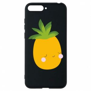 Etui na Huawei Y6 2018 Pineapple with face