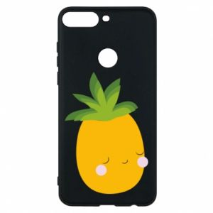 Etui na Huawei Y7 Prime 2018 Pineapple with face