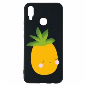 Etui na Huawei P Smart Plus Pineapple with face