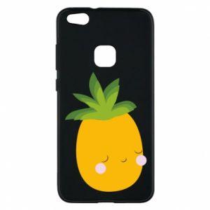 Etui na Huawei P10 Lite Pineapple with face