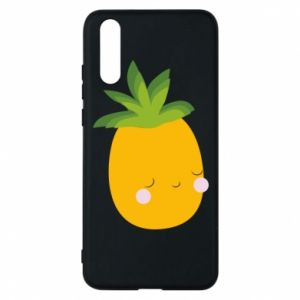 Etui na Huawei P20 Pineapple with face