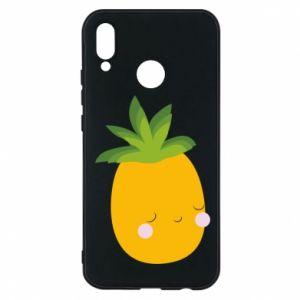 Etui na Huawei P20 Lite Pineapple with face