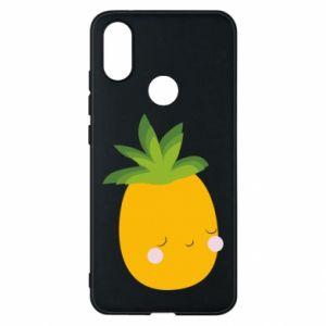 Etui na Xiaomi Mi A2 Pineapple with face