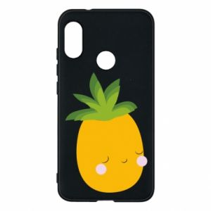 Etui na Mi A2 Lite Pineapple with face