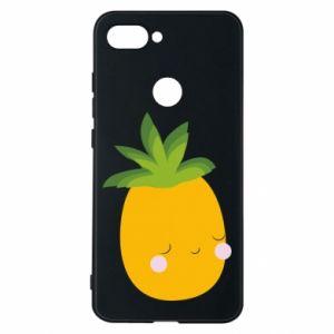 Etui na Xiaomi Mi8 Lite Pineapple with face