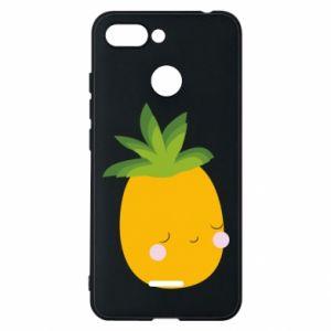 Etui na Xiaomi Redmi 6 Pineapple with face