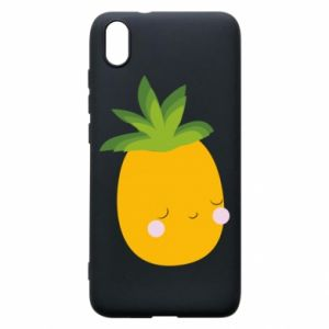 Etui na Xiaomi Redmi 7A Pineapple with face