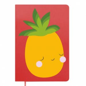 Notes Pineapple with face